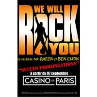 Affiche Comédie musicale  WE WILL ROCK YOU © Fnac Spectacles