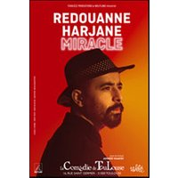 Affiche Humoristes  REDOUANNE HARJANE - MIRACLE © Fnac Spectacles