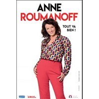 Affiche One man/woman show  ANNE ROUMANOFF © Fnac Spectacles