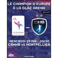 Affiche Handball  CRMHB / MONTPELLIER HB © Fnac Spectacles