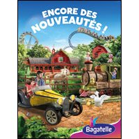 Affiche Parc d'attraction  PARC BAGATELLE - CARTE SAISON © Fnac Spectacles