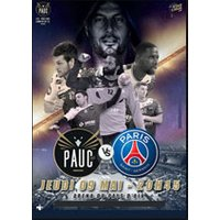 Affiche Handball  PAUC / PARIS © Fnac Spectacles