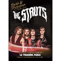 Affiche Rock  THE STRUTS © Fnac Spectacles