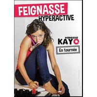 Affiche Comédie  FEIGNASSE HYPERACTIVE © Fnac Spectacles