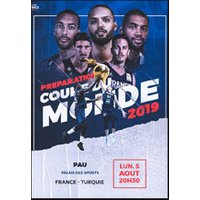 Affiche Basketball  FRANCE / TURQUIE © Fnac Spectacles