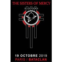 Affiche Pop-rock / Folk  THE SISTERS OF MERCY © Fnac Spectacles