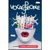 Affiche Grand spectacle  VOCA PEOPLE © Fnac Spectacles