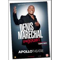 Affiche One man/woman show  DENIS MARECHAL © Fnac Spectacles