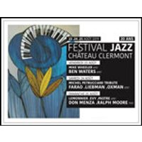 Affiche Jazz  DON MENZA - R.MOORE © Fnac Spectacles
