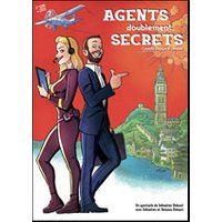 Affiche Spectacle de magie  AGENTS DOUBLEMENT SECRETS © Fnac Spectacles