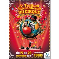 Affiche Nouveau cirque  3EME FESTIVAL INTERNATIONAL © Fnac Spectacles