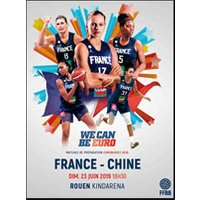Affiche Basketball  FRANCE / CHINE © Fnac Spectacles