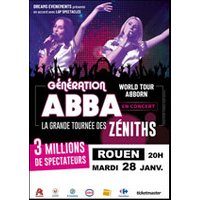 Affiche Variété internationale  ABBORN GENERATION ABBA © Fnac Spectacles