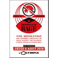 Affiche Rock  PROPHETS OF RAGE © Fnac Spectacles