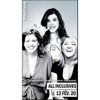 Affiche Humoristes  ALL INCLUSIVES © Fnac Spectacles