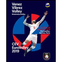 Affiche Volley-ball  EUROVOLLEY 2019 © Fnac Spectacles