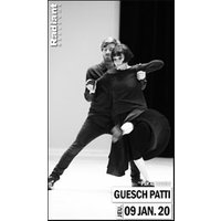 Affiche Danse contemporaine  GUESCH PATTI © Fnac Spectacles