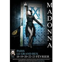 Affiche Variété internationale  MADONNA © Fnac Spectacles
