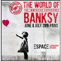 Affiche Exposition  THE WORLD OF BANKSY © Fnac Spectacles