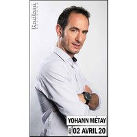 Affiche One man/woman show  YOHANN METAY © Fnac Spectacles
