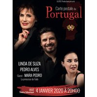 Affiche Musiques de France & Europe  CARTE POSTALE DU PORTUGAL © Fnac Spectacles