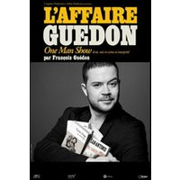 Affiche One man/woman show  FRANCOIS GUEDON © Fnac Spectacles