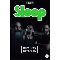 Affiche Pop-rock / Folk  SLEEP © Fnac Spectacles