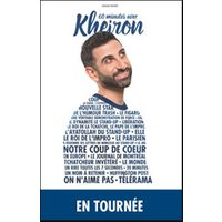 Affiche One man/woman show  KHEIRON © Fnac Spectacles