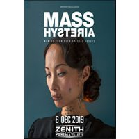 Affiche Rock  MASS HYSTERIA © Fnac Spectacles