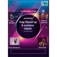 Affiche One man/woman show  CAP STAND-UP © Fnac Spectacles