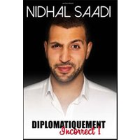 Affiche One man/woman show  NIDHAL SAADI © Fnac Spectacles