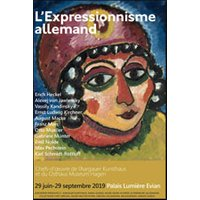 Affiche Exposition  L'EXPRESSIONNISME ALLEMAND © Fnac Spectacles