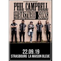 Affiche Hard-rock/Métal  PHIL CAMPBELL & THE BASTARD SONS © Fnac Spectacles