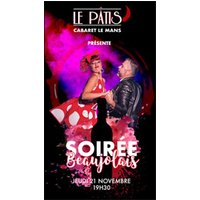 Affiche Restauration/Repas spectacle  SOIREE BEAUJOLAIS © Fnac Spectacles