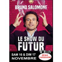 Affiche One man/woman show  BRUNO SALOMONE © Fnac Spectacles