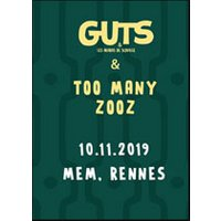 Affiche Jazz  GUTS + TOO MANY ZOOZ © Fnac Spectacles