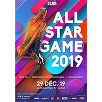 Affiche Basketball  ALL STAR GAME 2019 © Fnac Spectacles