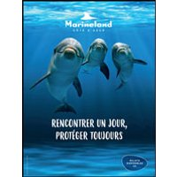 Affiche Parc d'attraction  MARINELAND + AQUASPLASH © Fnac Spectacles