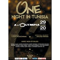 Affiche Musiques d'Orient & Maghreb  ONE NIGHT IN TUNISIA © Fnac Spectacles
