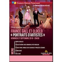 Affiche Restauration/Repas spectacle  FRANCE GALL ET CLOCLO © Fnac Spectacles