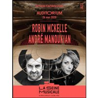 Affiche Jazz  ROBIN MCKELLE - ANDRE MANOUKIAN © Fnac Spectacles