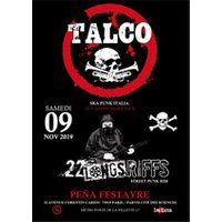 Affiche Rock  TALCO + 22 LONGS RIFFS © Fnac Spectacles