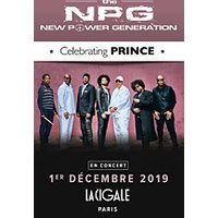 Affiche R'n'B/Soul/Funk  THE NEW POWER GENERATION © Fnac Spectacles