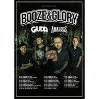 Affiche Rock  BOOZE AND GLORY © Fnac Spectacles