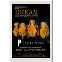 Affiche Danse contemporaine  DREAM © Fnac Spectacles