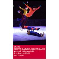 Affiche Spectacle sur glace  GLACE © Fnac Spectacles