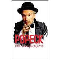Affiche One man/woman show  POPECK © Fnac Spectacles