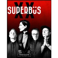 Affiche Pop-rock / Folk  SUPERBUS © Fnac Spectacles