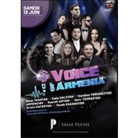 Affiche Musiques de France & Europe  VOICE OF ARMENIA © Fnac Spectacles