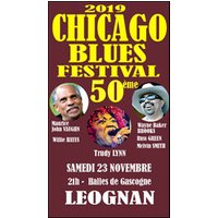 Affiche Blues/Country  50EME CHICAGO BLUES FESTIVAL © Fnac Spectacles